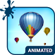 Air Balloons Animated Keyboard by Wave Keyboard Design Studio