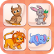 Cute Animals Memory - Free by Funny Addicting Games