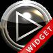 Poweramp Widget Black Glas by Maystarwerk Skins & Widgets Vol.1