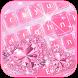 Love Diamond Keyboard Theme by Fantasy Keyboard studio