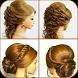 Girl Hairstyles Easy Steps 2017 by RedBeri Apps