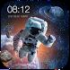 New Screen Lock Wallpaper 2017 HD spaceman&cosmos by Weather Widget Theme Dev Team