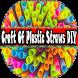 Craft Of Plastic Straws DIY by RayaAndro27
