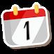 Calendar Malaysia 2018 3D