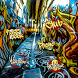 Fashion Graffiti Street Art by Launcher phone theme