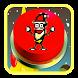 Santa Claus Xmas Banana Jelly Button 2018 by sm33il DEVs