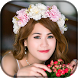 Wedding Flower Crown Beauty Photo