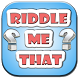 Riddle Me That Game by mrsimow