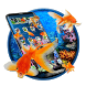 3D Gold fish aquarium theme by 3dthemecoollauncher