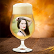 Beer Glass Photo Frame by bubbles app