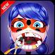 Ladybug et Cat Noir dentist by akajou
