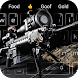 Cool sniper rifle keyboard theme
