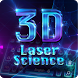 3D laser science keyboard by B-P Theme Design Studio