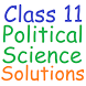 Class 11 Political Science Sol by RDS EDUCATION APPS