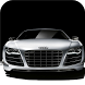 Silver car. Live wallpapers by Live Wallpapers UA