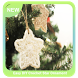 Easy DIY Crochet Star Ornament by Asmadias