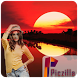 Sunset Photo Frame by piczilla