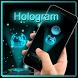 Hologram laser theme by hdthemedeveloper