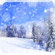Xmas Snowflakes Live Wallpaper by sonisoft