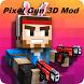 Pixel Gun 3D Mod for MCPE by ekadsk