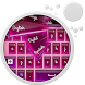 Laser Pink Keyboard by Keyboard Themes HD