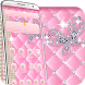 pink diamond butterfly theme by cool theme creator