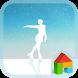 Fairy on the Ice dodol theme by dodol theme