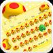 Cute Mushromms Keyboard by Echo Keyboard Theme