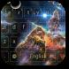 Cosmos Nebula Comet Keyboard by livewallpaperjason