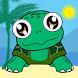 Cute Turtle Runner by Elena Burceanu