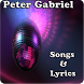 Peter Gabriel Songs&Lyrics by andoappsLTD
