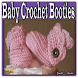 Baby Crochet Booties by Galih_Studio
