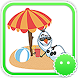 Stickey Frozen Snowman by Awesapp Limited