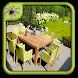 Wooden Garden Furniture Design by Black Arachnia