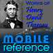 Works of Henry David Thoreau by MobileReference