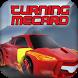 Racing Car Turning Mecard by Bee Dev
