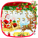 Christmas Santa Claus Keyboard by Super Cool Keyboard Theme