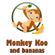 Monkey Koo and bananas by maxmy