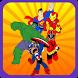 Puzzle SuperHero Kids Learning