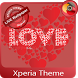 love | Xperia™ Theme by The Gosa