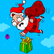 Santa Christmas Falling by Banana4apps