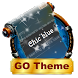 Chic blue SMS Layout by Fairy tale themes
