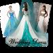 wedding dress design by AuraApp