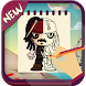 Draw Pirates of the Caribbean by iDev-New : Drawing Apps