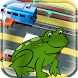 Frog jump cross road by Commodity Trader Online