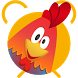 Rooster alarm clock by Swift