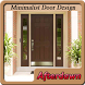 Minimalist Door Design by Afterdawnapps