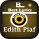 New Lyrics Edith Piaf by Kneights Apps