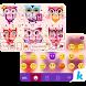 Cute Owls Emoji Keyboard Theme by Kika Theme Dev