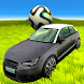 Car Soccer League Rocket by Polyester Studio
